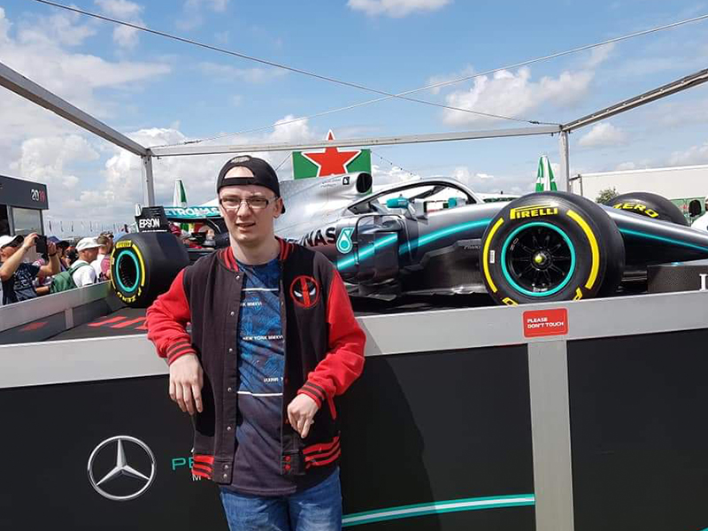 F1 day out Just BU